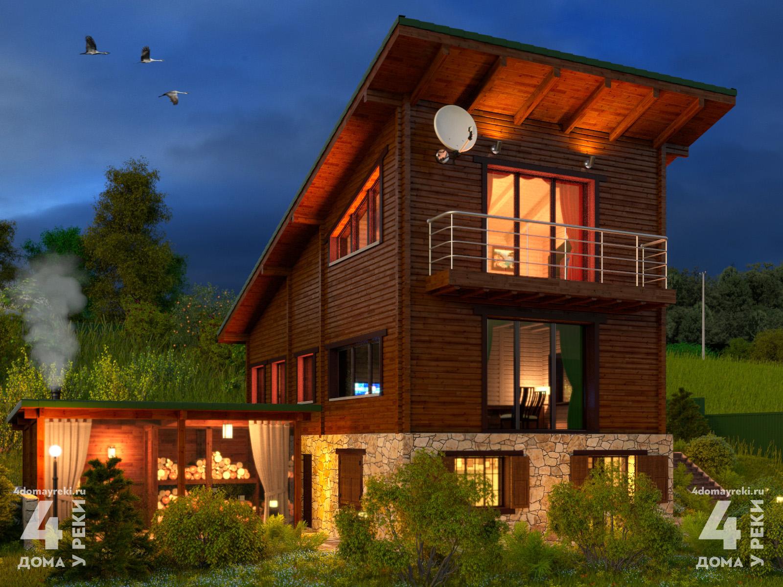 Купить дом возле реки